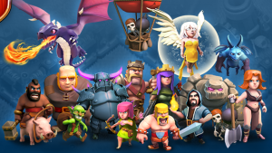 Clash Of Clans Troops Wallpaper